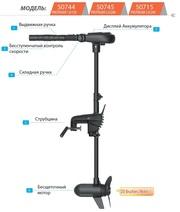 Электромотор лодочный Haswing Protruar 2.0 л.с. 85 lbs