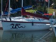 Парусно-моторная яхта швертбот